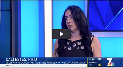 Signs You Are Addicted to Technology Cali Estes, Ph.D. talks with NBC 7's Whitney Southwick about the physical, mental and emotional effects of technology addiction.